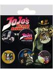 JoJos Bizarre Adventure Badge Pack