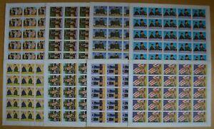 E838. Manama - MNH - Famous People - Miltiary - Full Sheet - Wholesale