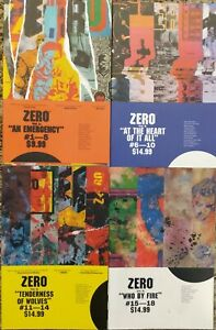 Zero graphic novel TPB lot run #1-4 COMPLETE SET - Ales Lot - Image