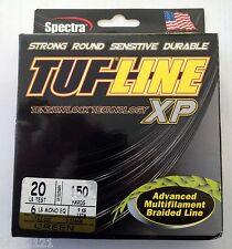 TRESSE TUF LINE XP 20 LB 137 m 9 kg green carnassiers brochet sandre