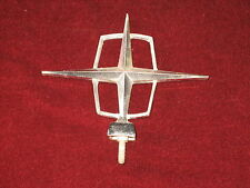 1960's ?? Lincoln Continental Hood Ornament and 2 Emblems