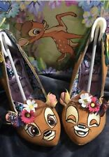 Irregular Choice Size 43 8.5 9 Us 11 Disney Shoes Hyah Bambi High Heels New