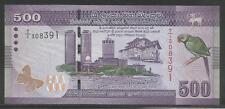 Sri Lanka P-new 500 Rupees 2010 Unc