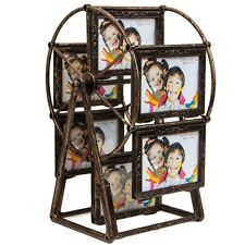 Windmill Wheel Picture Frame Vintage Photo Frame Craft Decor Ferris Retro Black