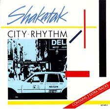 SHAKATAK - City Rhythm (CD, 1985, Polydor) Jazz Fusion - Bill Sharpe Jill Saward