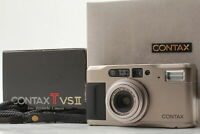 [Near MINT in BOX] Contax TVS II 35mm Point & Shoot Carl Zeiss from JAPAN