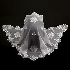 Catholic Church Mass Lace Chapel Veil Headcover Mantilla Communion Baptism HSI