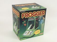 TOP CONDITION Coleco Frogger Tabletop Electronic Handheld VFD Game 1982 Vintage