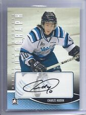 12-13 2012-13 IN THE GAME HEROES PROSPECTS CHARLES HUDON AUTOGRAPH CH CANADIENS