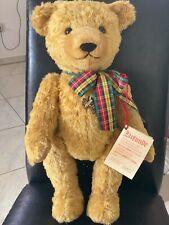 Althans Teddybär 47 cm blond Limitierte Ausgabe 132/500 Brummbär mit Etikett