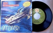 "BEN RICHARDSON / SKY DIVER - 7"" (printed in Italy 1979)"