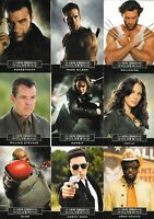 Marvel Wolverine origins Character Casting Call Chase Insert Set C1 -C9