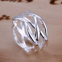 beautiful Fashion silver Pretty cute Women party Ring hot nice pretty 925