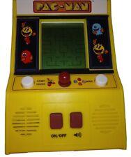Pacman Mini Arcade Handheld Video Game Bandai Namco Toy Tested Works Pac-Man