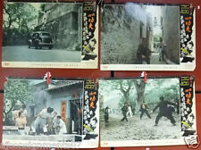 Set of 5 Kung Fu's Hero {Lik Cheung} Film Lobby Card 70s