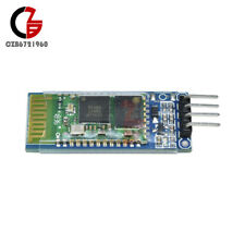 HC-06 RS232 transmisor-receptor RF inalámbrico Serial de 4 Pin Bluetooth Módulo Con Backplane