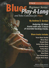 The Blues Play-A-Long and Solos Collection for Flute Beginner Series