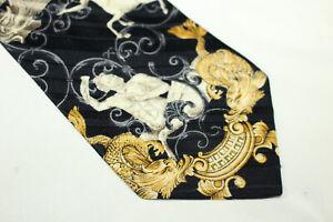 GIANFRANCO FERRE Silk tie Made in Italy F16359