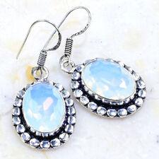 """1 1/2"""" X72636 Milky Opalite Earrings"""