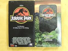 2 Jurassic Park Vhs Movies:Jurassic Park, Jp The Lost World,