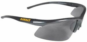 Dewalt Radius Protective Eyewear DIY Warehouse Safety Eye Glasses Smoke Lens​​​​