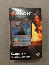 MTG Magic the Gathering Core Set 2019 SARKHAN Planeswalker Deck