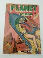 Planet Comics #65 Planet Comics 1951 Golden Age Science Fiction