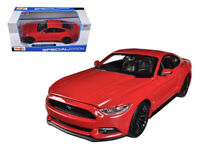 2015 Ford Mustang GT 5.0 Red 1:24 Diecast Model - Maisto - 31508RD*