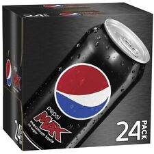 Pepsi Max Soft Drink Multipack Cans, 375ml - 24 Pack
