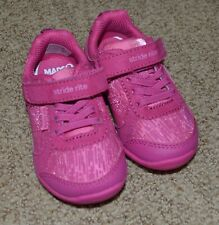 Stride Rite Made to Play Molly 5W Wide Pink Tennis Shoe Sneaker Toddler