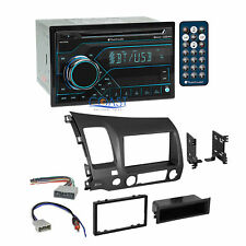 Planet Audio Usb Bluetooth Car Stereo Dash Kit Harness for 2006-11 Honda Civic