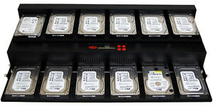 SySTOR Flatbed 1-11 SATA 150MB/sec Mass HDD Solid State Drive Duplicator Cloner