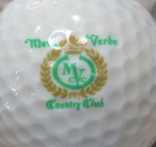 (1) Mesa Verde Country Club Golf Course Logo Golf Ball