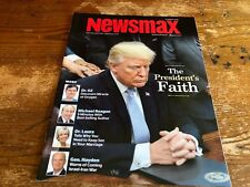 SUMMER 2018 NEWSMAX poltical magazine TRUMPS FAITH