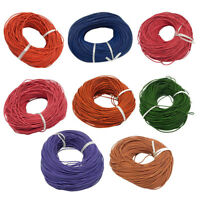 Thread Leather Cord Bracelet Necklace DIY Jewelry Making Round 2mm Cords