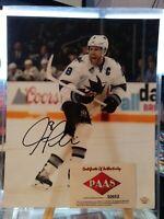 Joe Pavelski Autographed Signed 8x10 Photo with COA San Jose Sharks