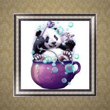 5D Diamond Embroidery Panda Painting Cross Stitch Craft Home Office Decor DIY