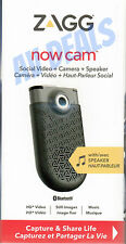 ZAGG Now Cam Social Video, Camera, and Speaker - Gray