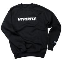 Hyperfly Crewneck Unisex Jumper - Black/White - MMA BJJ