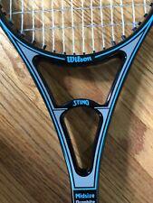Wilson Midsize 4 5/8 Tennis Racquet Graphite Blue Black