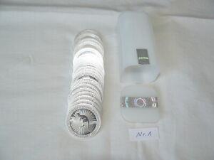 Australien Känguru 2017  Perth Mint 20 x 1 oz. Silber + Tube Nr. 1