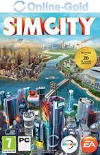 Sim City 2013 - PC & MAC Version EA Origin Code - Digital Download Spiel Key