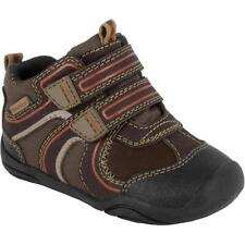 Pediped Grip N Go  Chocolate Brown Hi Shoes Little Boys Size 5 1/2