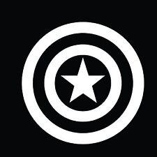 Captain America avengers  Bumper Sticker Window  Laptop Car Truck Decal Vinyl