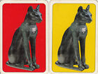 Vintage Swap / Playing Card - 2 SINGLE - PIATNIKS - CATS