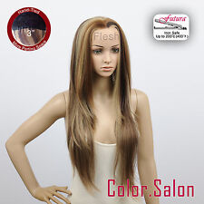 """HAND TIED 3"""" Flesh LACE FRONT WIGS Glueless Heat Safe Super Long 96L(3)#6/12/24F"""