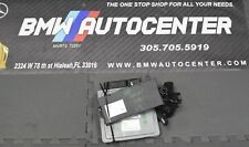 2008 BMW 328i Manual Complete Set Key Fob Ignition Module