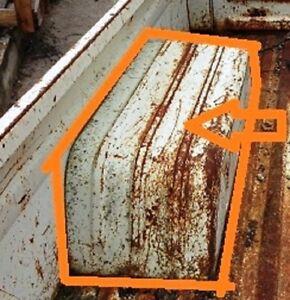 FITS DATSUN NISSAN 520 521 PICKUP MODEL 1965 72 BED INNER FENDER PANEL PAIR R L