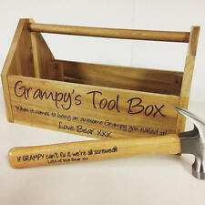 Toolbox, Personalised tool box, Grampy, Fathers day gift