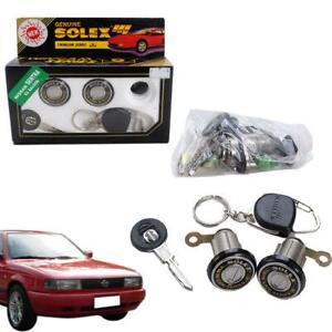 Fit 96-02 Nissan Sentra Ex Saloon Solex Door Lock Security Safety Flat Key Set